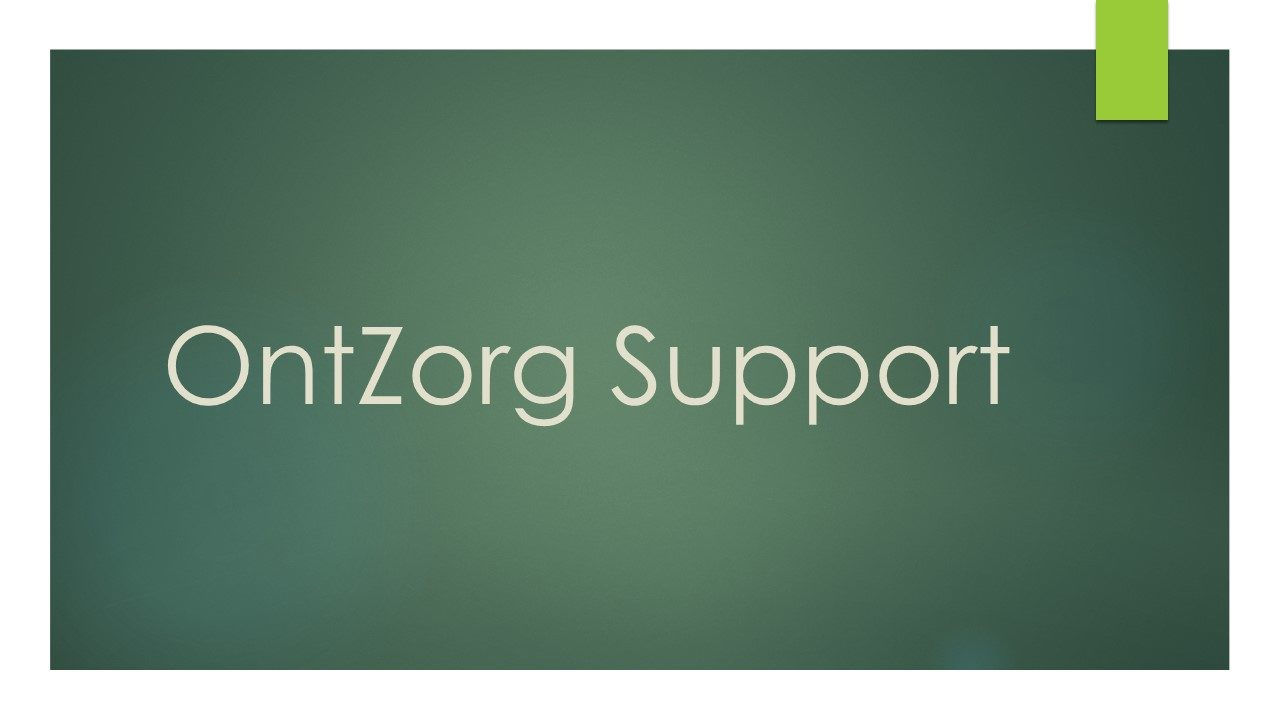 OntZorg Support